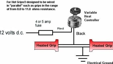 Heated Grips: Heated Grips Relay Diagram